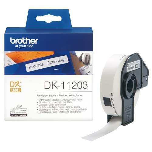 برچسب لیبل پرینتر برادر Brother DK-11203